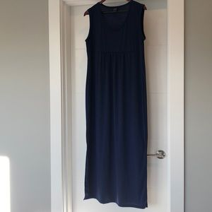 Gap Maternity Sleeveless Dress Navy Blue - Large